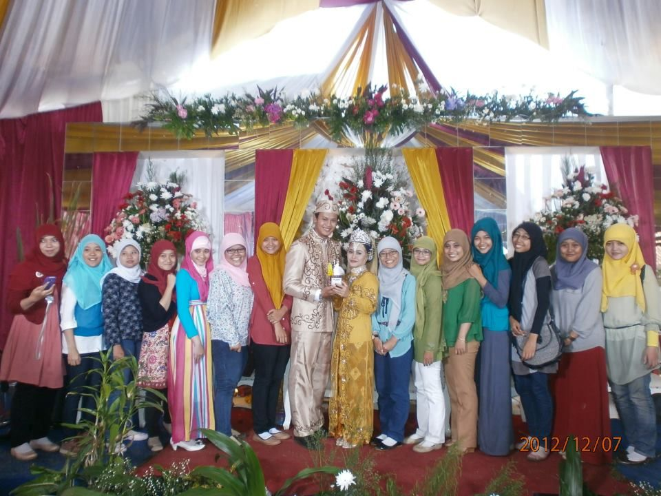 Buchorie's and Nena's Wedding party , Depok, Indonesia