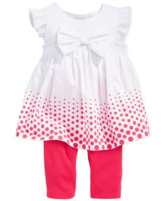 First Impressions Baby Clothes Pleasing First Impressions Baby Girls' 2Piece Tunic & Leggings Set  Little Design Ideas