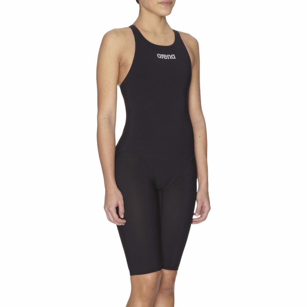 dbe0d94c36f9d New Racing Swimsuit Arena Fina Approved Powerskin ST Open Back Black - Size  24