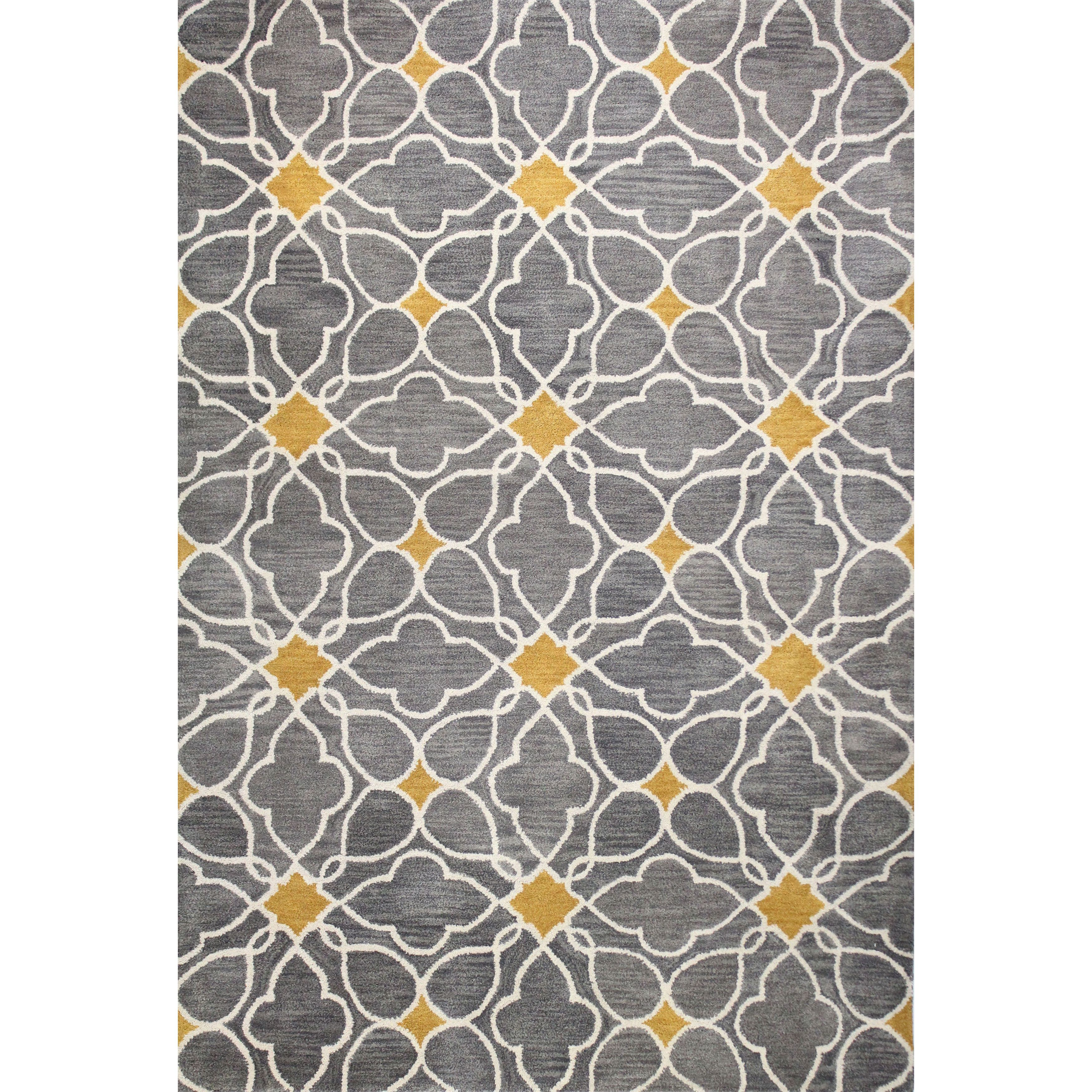 Alfombras Contemporaneas Kiara Tufted Wool Area Rug Products Pinterest