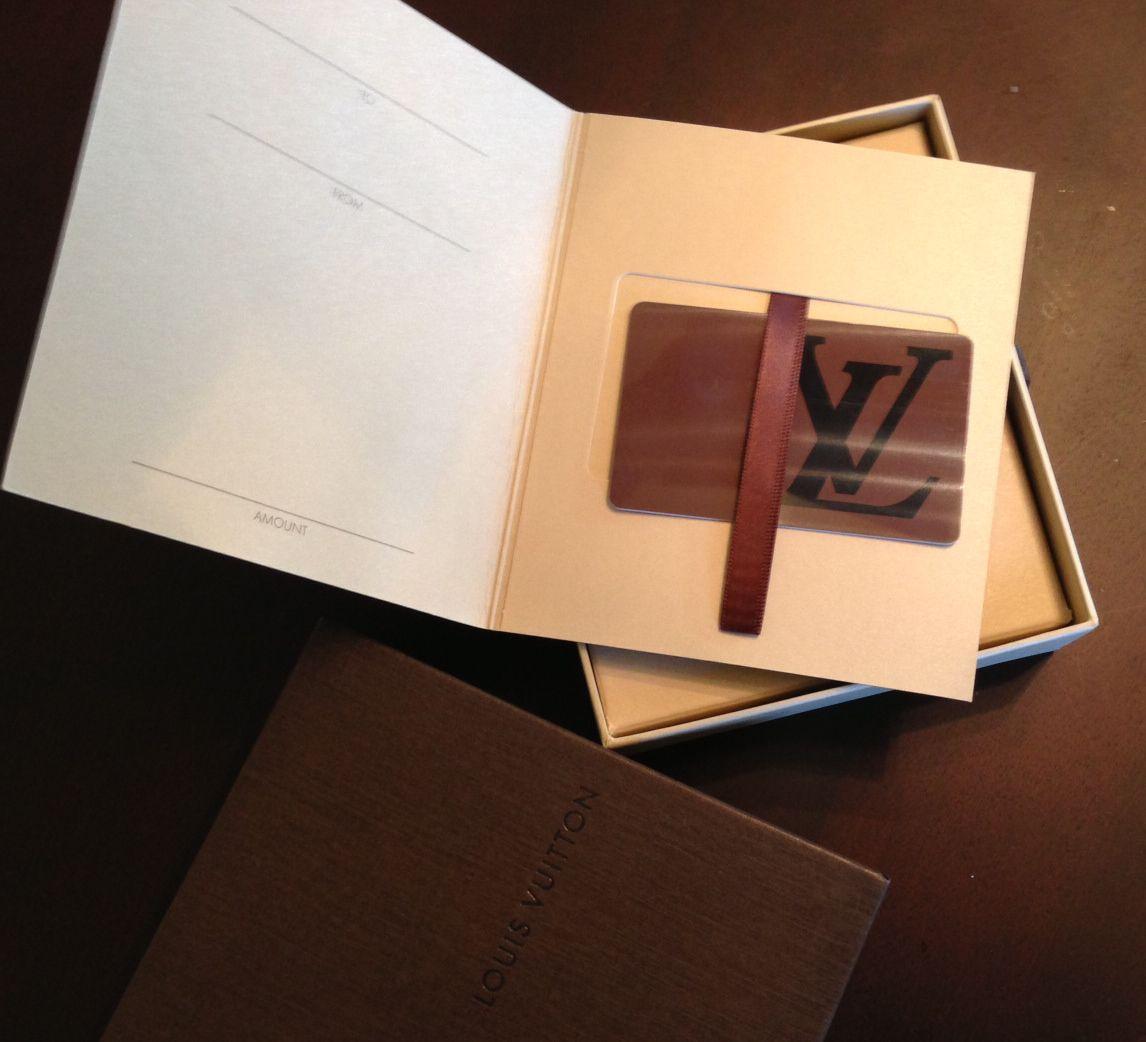 LV+gift+card.JPG 1,146×1,042 pixels   the goods   1   Pinterest ...