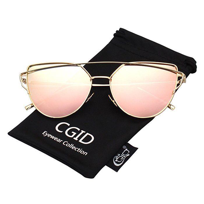 CGID Mode Polarisierte Katzenaugen Sonnenbrille For Damen UV400 ...