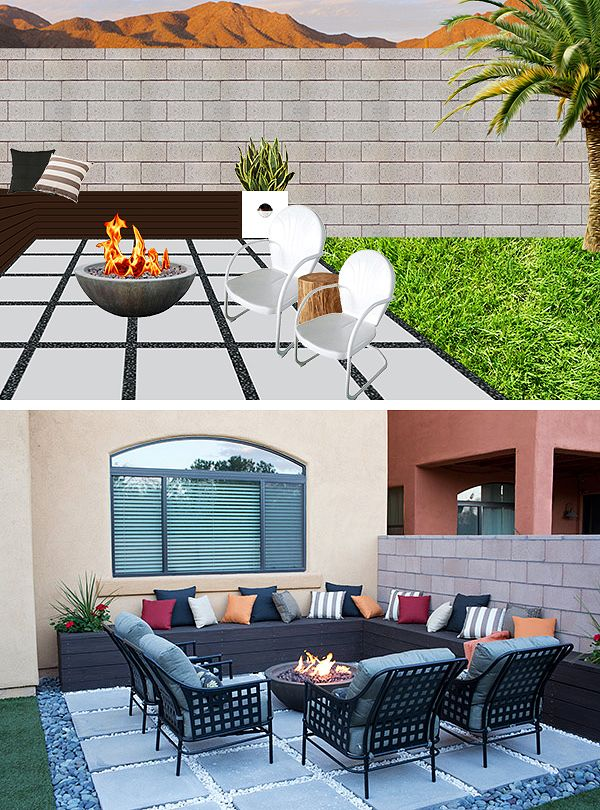 Low Maintenance Backyard Design Ideas The Home Depot Makeover And