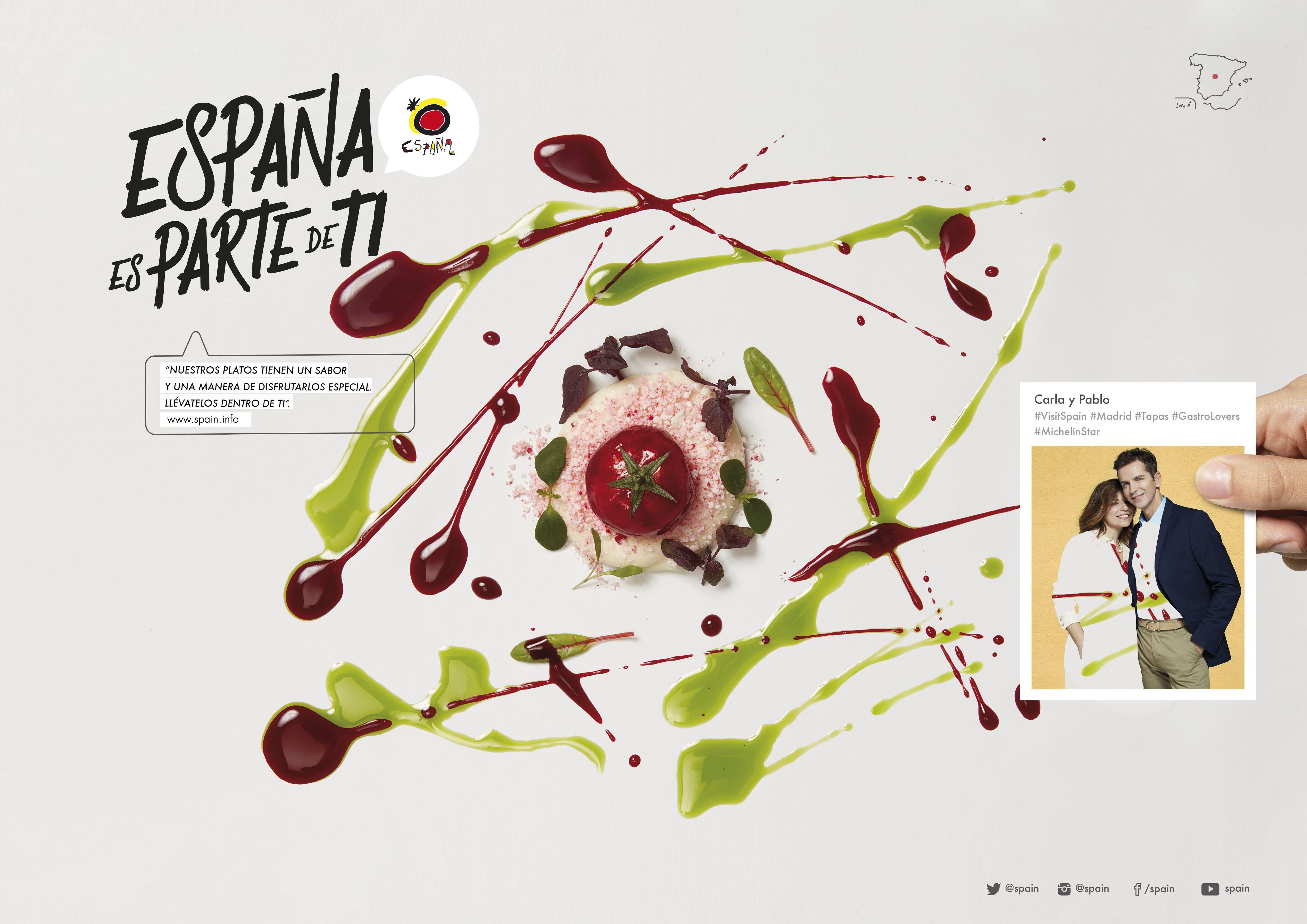 Eslogan 'España es parte de tí'