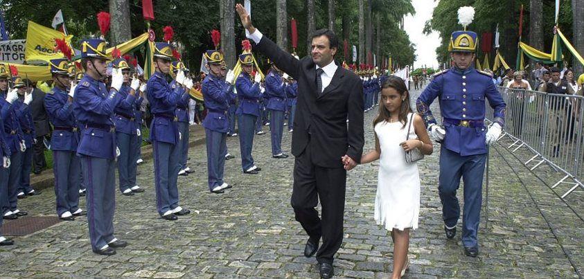 Cerimonia de posse de Aécio como Governador de Minas Gerais (Primeiro Mandato)