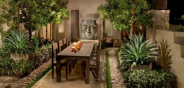 Outdoor Tablescapes Global Patio Style Asian