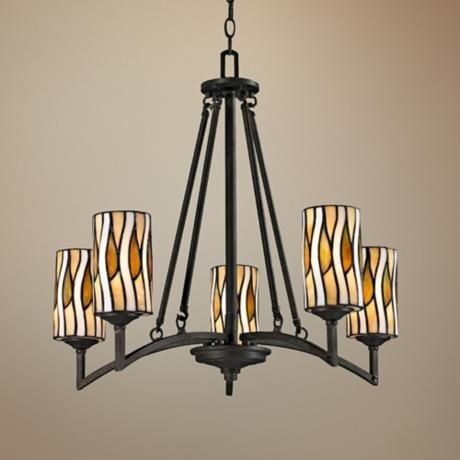 Candella Collection 26 Quot Wide Dale Tiffany Chandelier