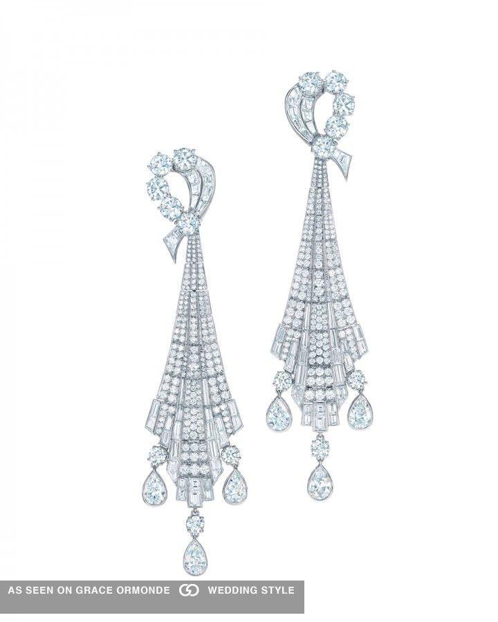 Tiffany And Co Diamond Chandelier Earrings