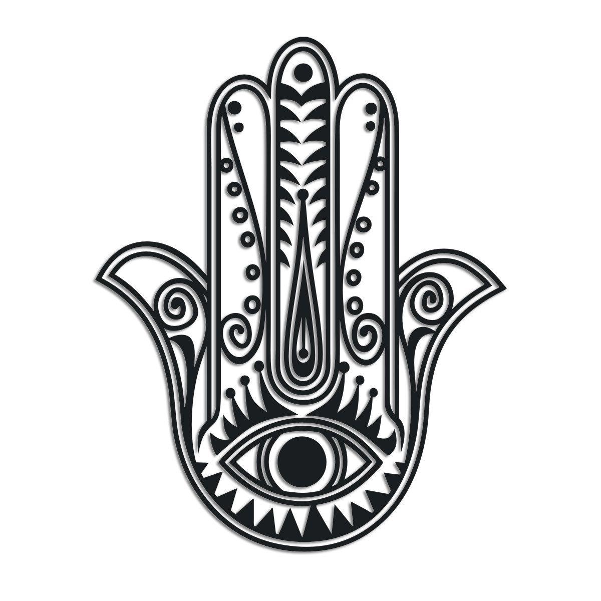 Simple hamsa hand drawing hamsa pinterest hamsa hand tattoo simple hamsa hand drawing buycottarizona Image collections