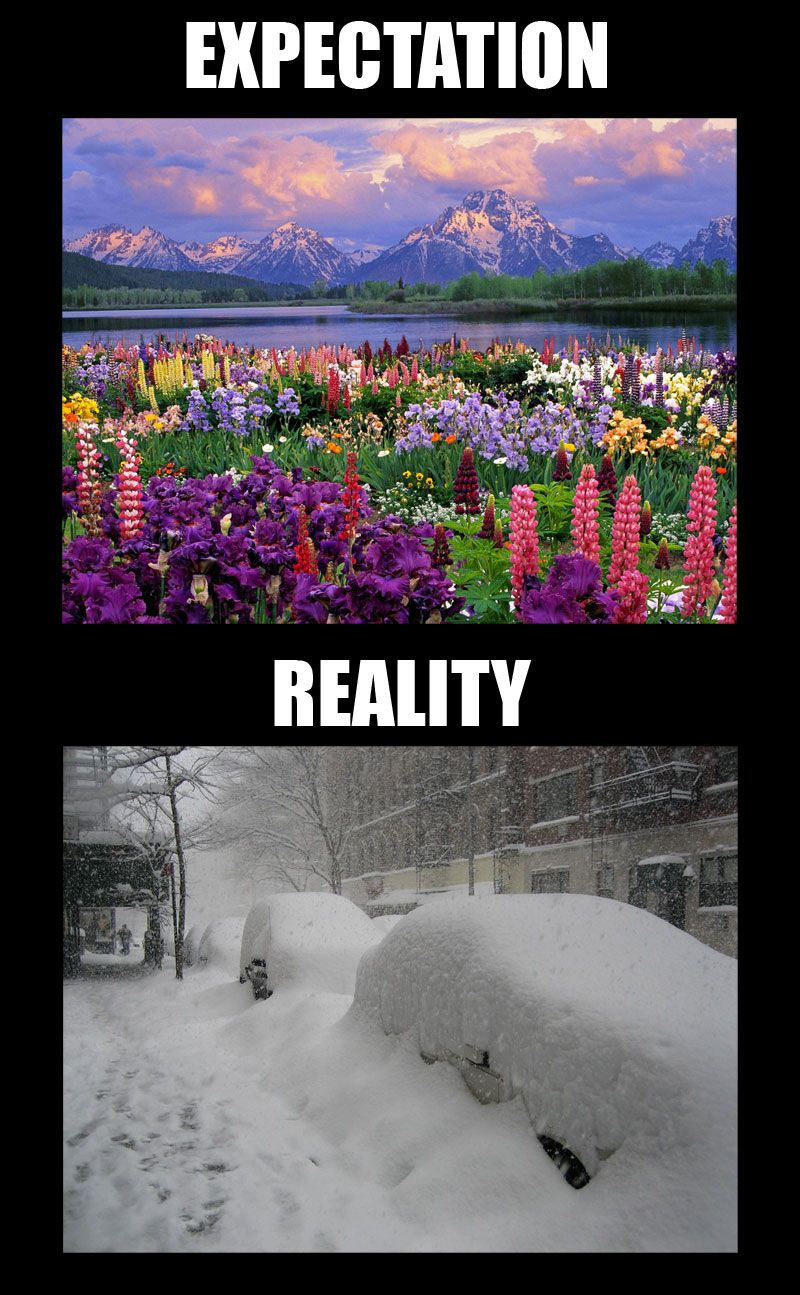 Snow On First Day Of Spring Makes Me >> First Day Of Spring Things That Make Me Laugh First Day Of