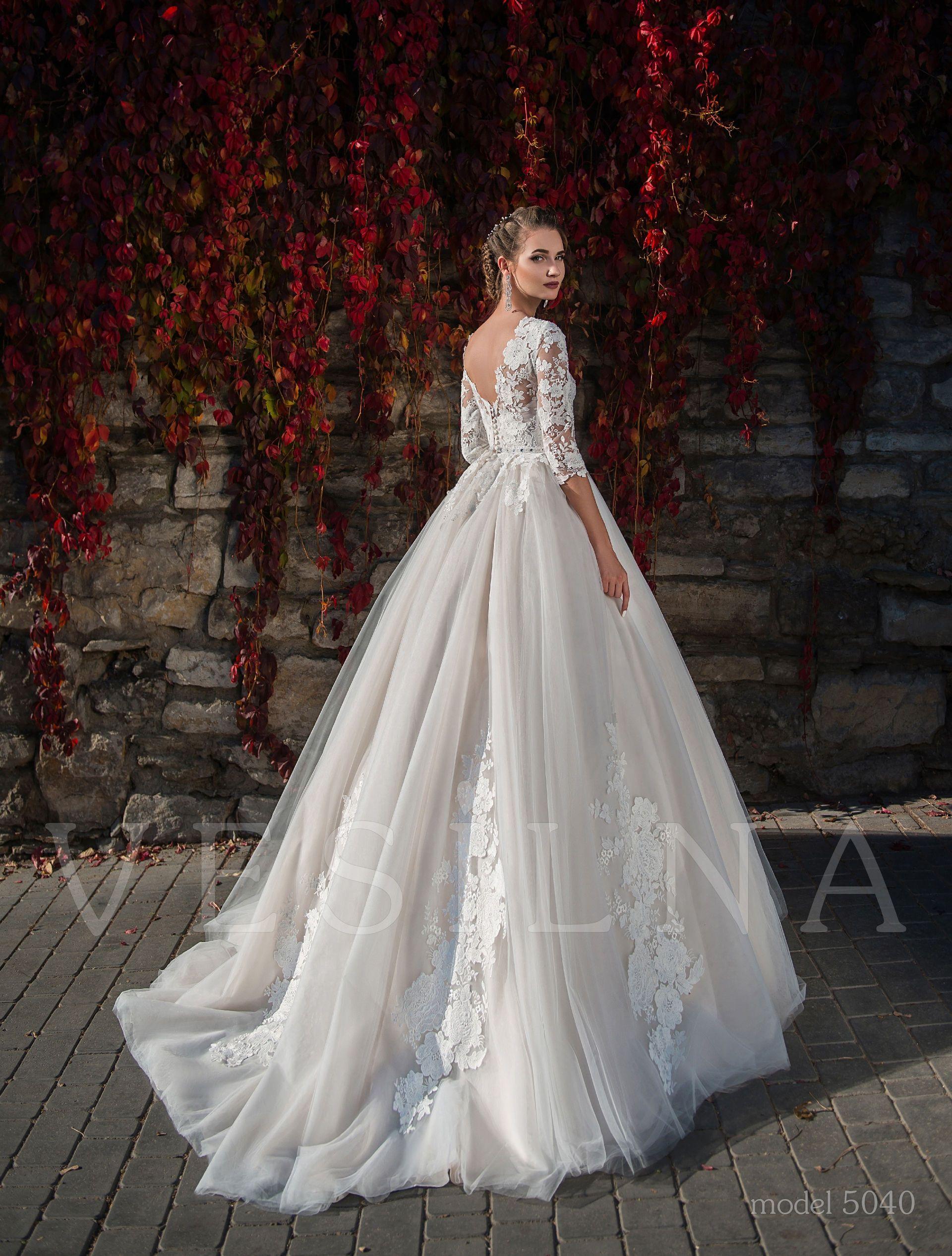 Collection Flower On The Stone Wedding Dresses модель 5040 от Vesilna