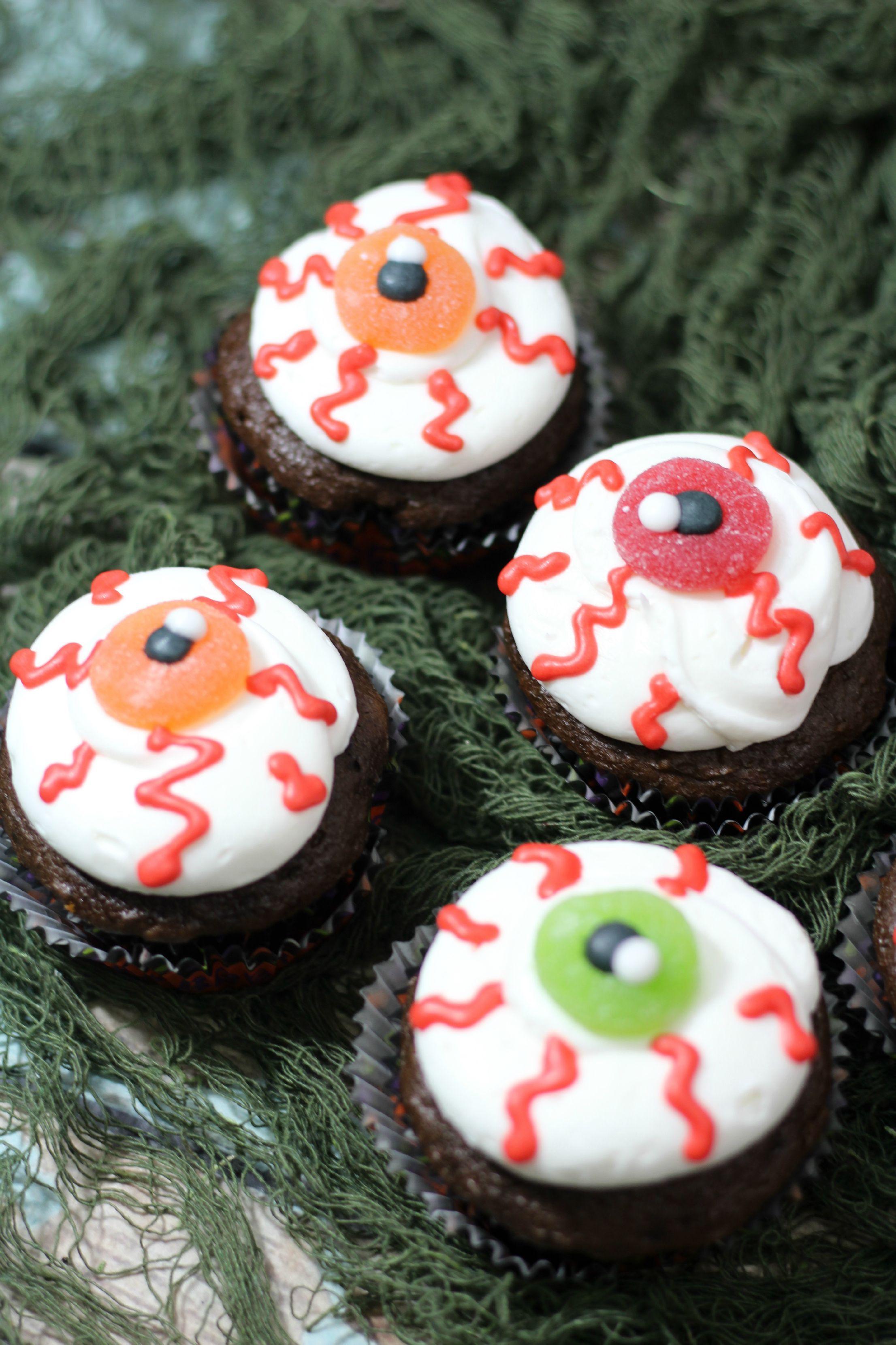 37+ Halloween Cupcakes Eyes | Halloween cupcakes easy ...