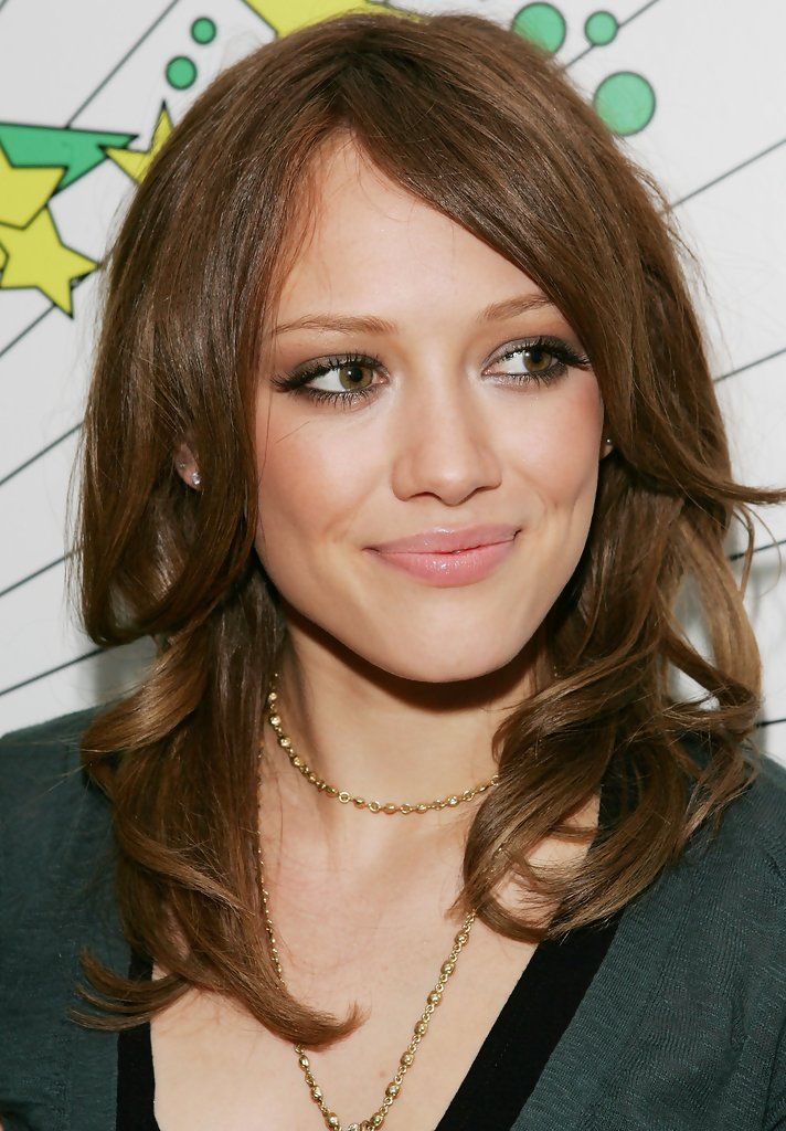 Hilary Duff brunette hair color | Hair Colors | Pinterest ...