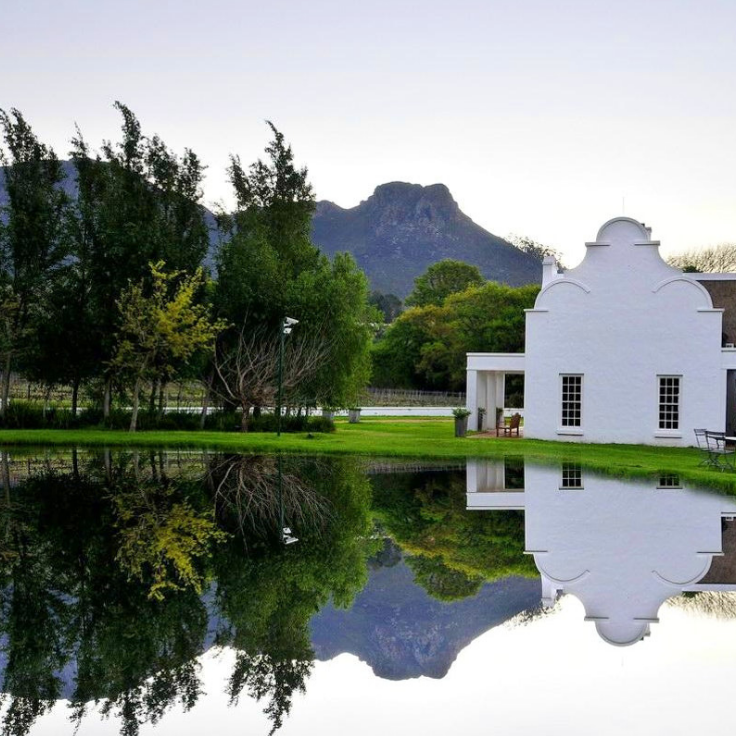 Get swept away by the beauty of the Cape Winelands Dutch