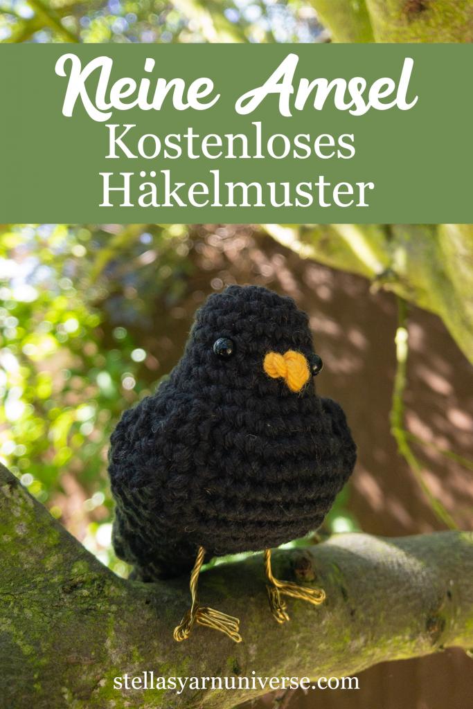 Photo of Kleiner Vogel – Kostenloses Häkelmuster – Stella's Yarn Universe