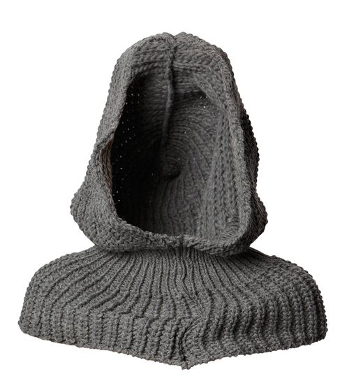 French Connection knitted hood