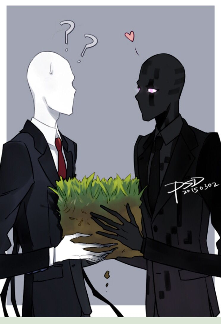 Enderman by PSlendy on deviant art | Slenderverse/Marble ...