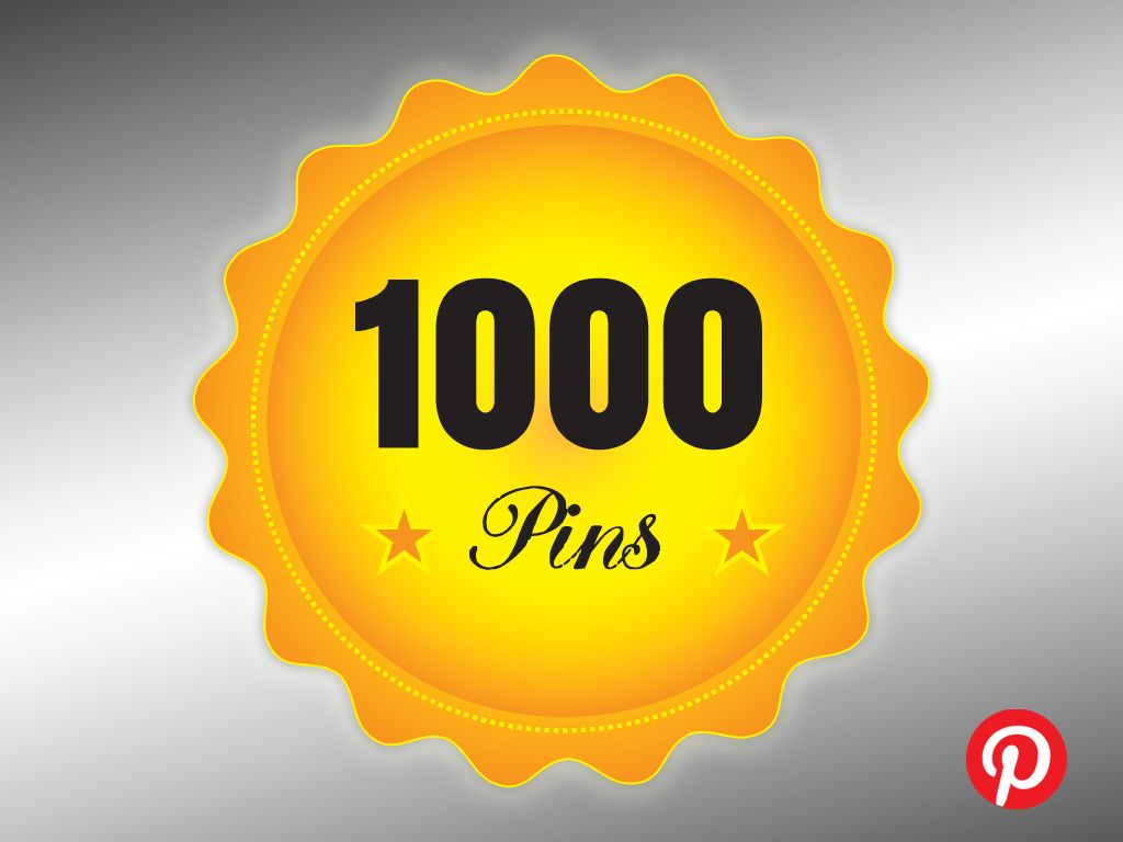 My 1000th pin... October 20th 2015... Only took me 3 years.