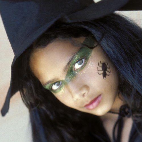 mscara de maquillaje de bruja - Maquillaje Bruja