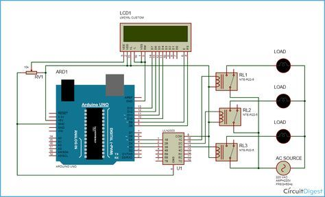 arduino home automation circuit diagram arduino pinterest rh pinterest co uk home automation system use case diagram home automation diagram icons