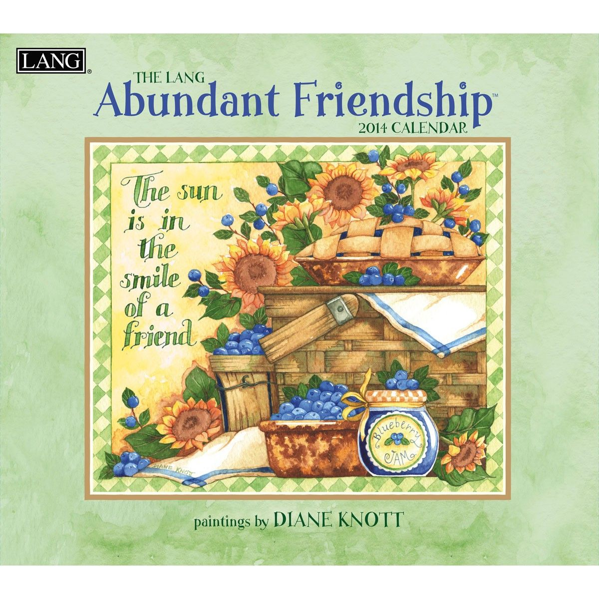 Abundant Friendship 2014 Wall Calendar , 1001673 | Lang by Diane ...