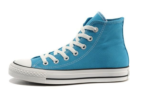 441233ea8161 Classic Korea Edtion Converse All Star Chuck Taylor Fluorescent Light Blue  High Tops Canvas Shoes  converse  shoes
