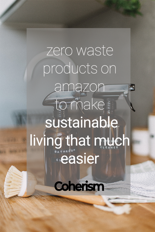 Amazon is ubiquitous these days and it's no wonder why - you can find pretty much anything on there! In fact, it's a treasure trove of eco-friendly products! But did you also know you can actually have your products shipped to you with (almost) zero waste delivery?  #coherism #ecofriendly #ecoliving #sustainableliving #sustainability #zerowaste