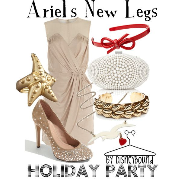 Ariel's New Legs, created by lalakay on Polyvore---I love that dress!!!