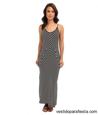 18716c9a1d109 Maxi vestidos rayados de moda casual 2014 – 33