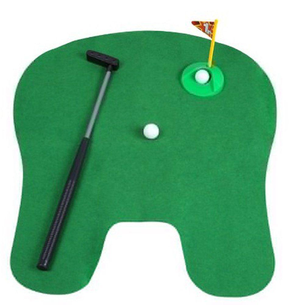 Tremendous Golf Birthday Toilet Seat Golf Mini Potty Golf Set Putter Evergreenethics Interior Chair Design Evergreenethicsorg