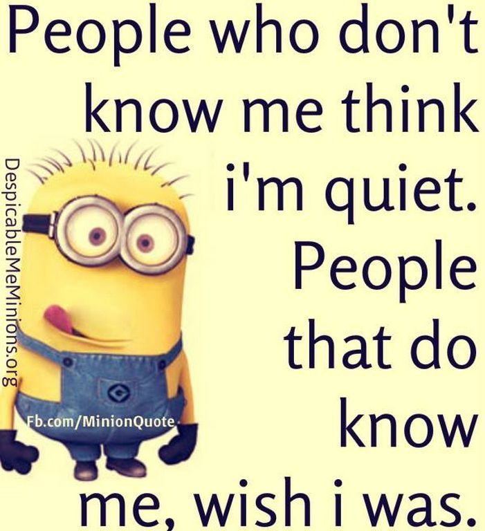 People Who Don't Know Me Think I'm Quiet
