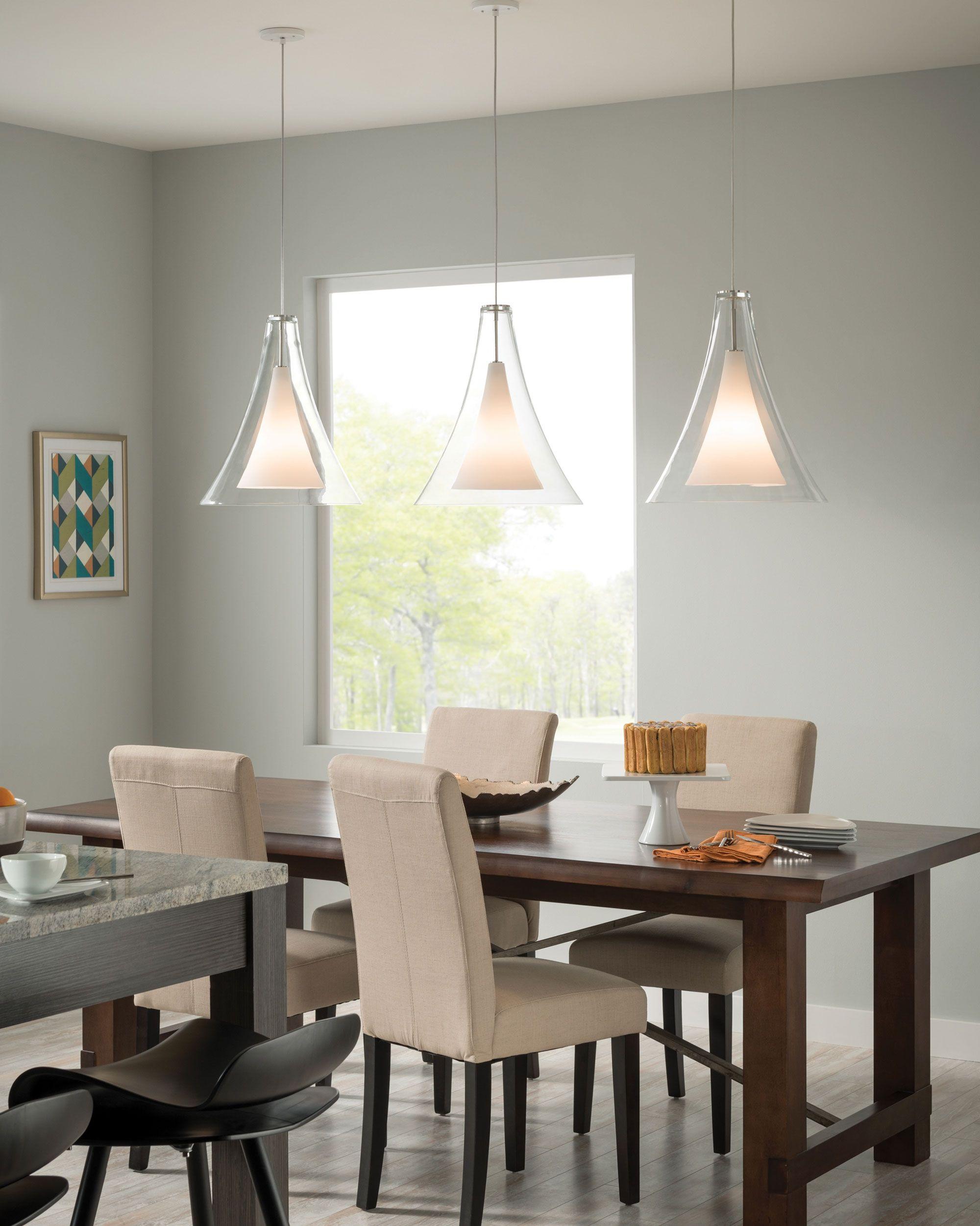 Melrose Ii Grande Pendant  Tech Lighting At Lightology  Home Impressive Light Dining Room Decorating Design