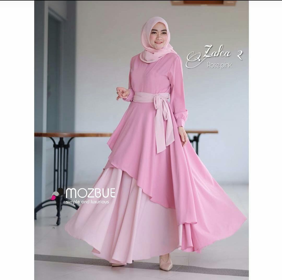 Gamis Modern Model Gamis Remaja Kekinian  Model pakaian muslim
