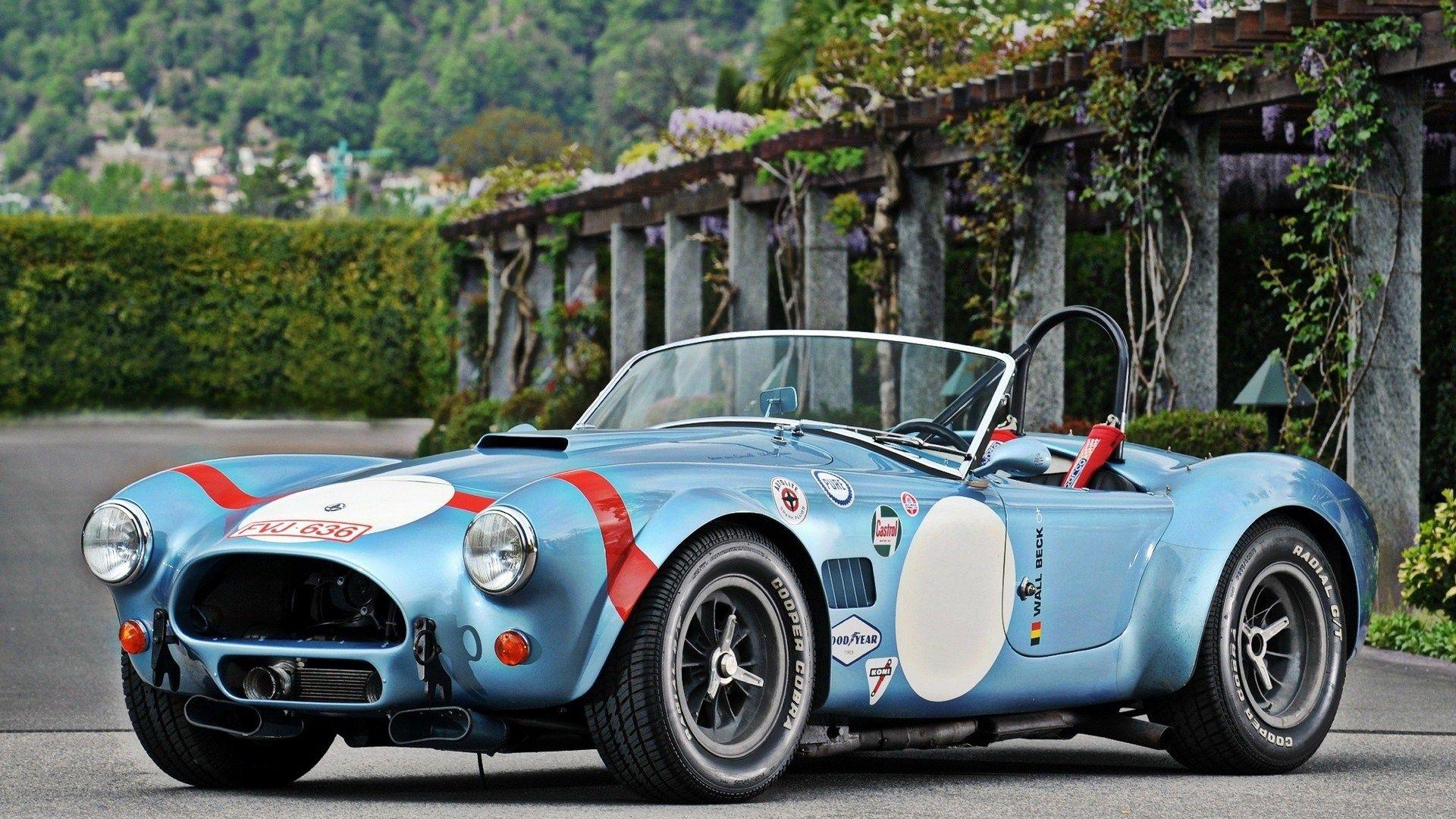 Shelby Cobra Racing Car Beautiful Cars Pinterest