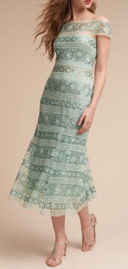 Lora Dress | Mint bridesmaid dresses, Tea length dresses ...