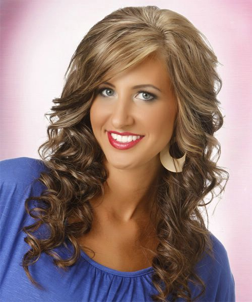 Wand Curling Iron Hairstyles Www Pixshark Com Images
