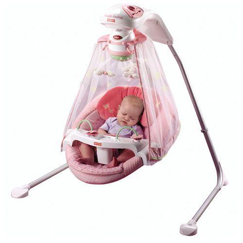 pink fisher price swing Google Search Baby Braelynn