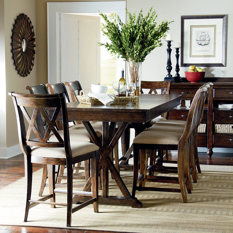Legacy Thatcher Counter Heigth Dining Table | from hayneedle.com ...