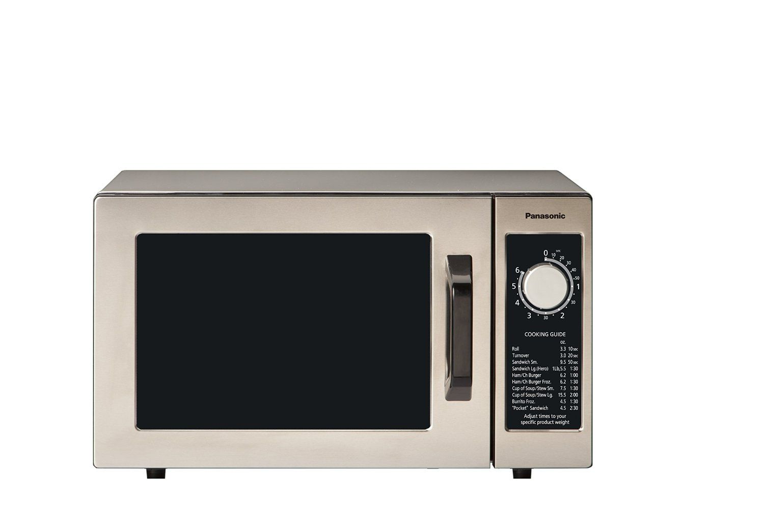 Amazon Com Panasonic Ne 1025f Silver 1000w Commercial Microwave Oven Kitchen Dining Countertop Microwave Microwave Microwave Oven