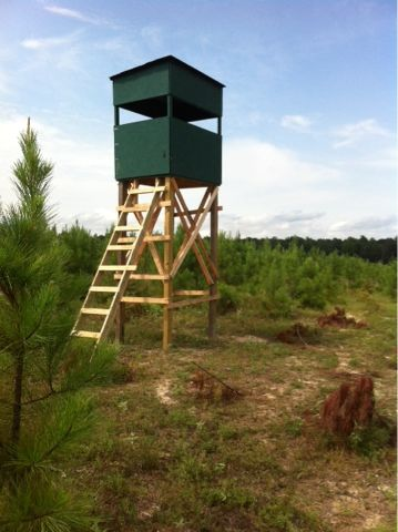 Stand Up 4x6 Deer Stand Deer Stand Deer Hunting Stands Hunting Stands