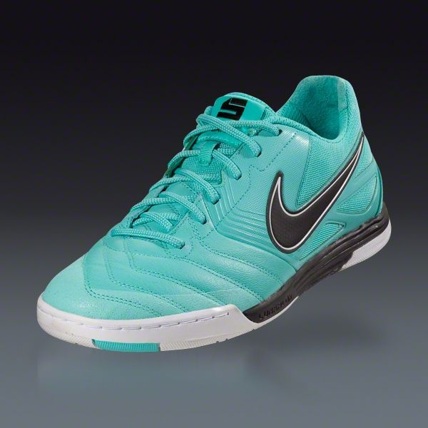 best sneakers f2b6d 5ff5d Nike Nike5 Lunar Gato - Calypso Black White Indoor Soccer Shoes     SOCCER.COM