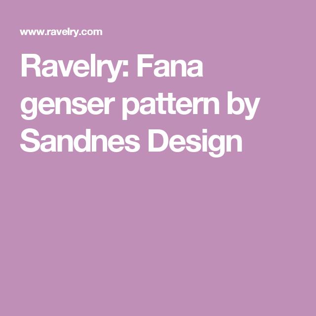 Ravelry: Fana genser pattern by Sandnes Design