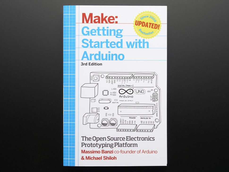 Getting Started With Arduino By Massimo Banzi 3rd Edition Arduino Breakout Board Diy Electronics