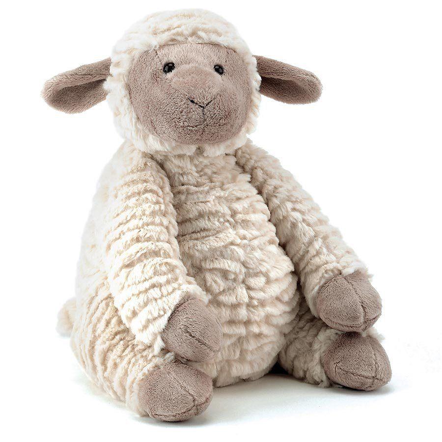 Baby Lamb wirh Teddy Bear Back View