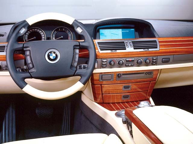 2007 BMW 7 Series 760Li 760 Picture Interior