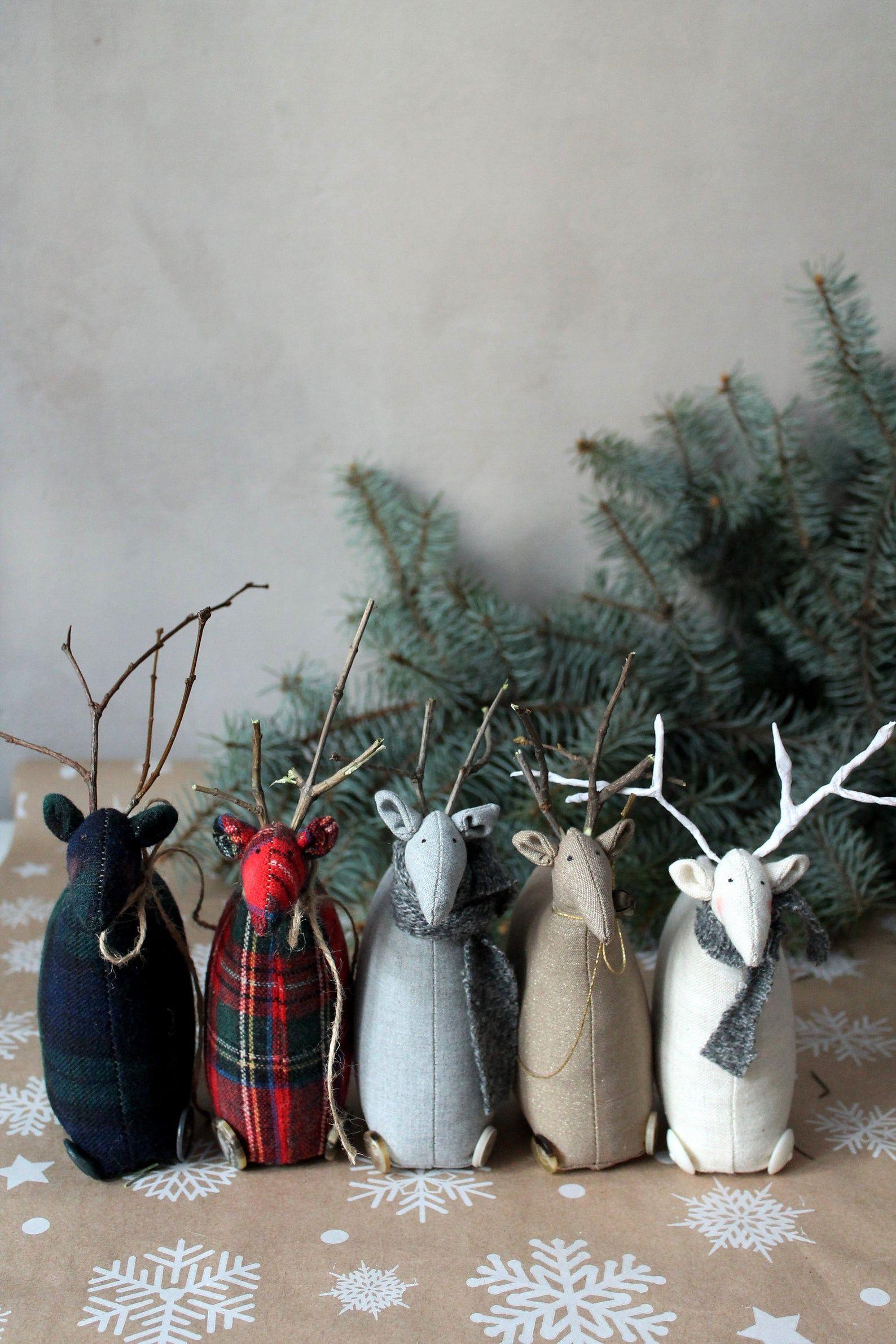 Nordic Animal Christmas Tree Ornaments Set Of 6 Crate And Barrel In 2020 Animal Ornament Christmas Ornament Sets Christmas Ornaments