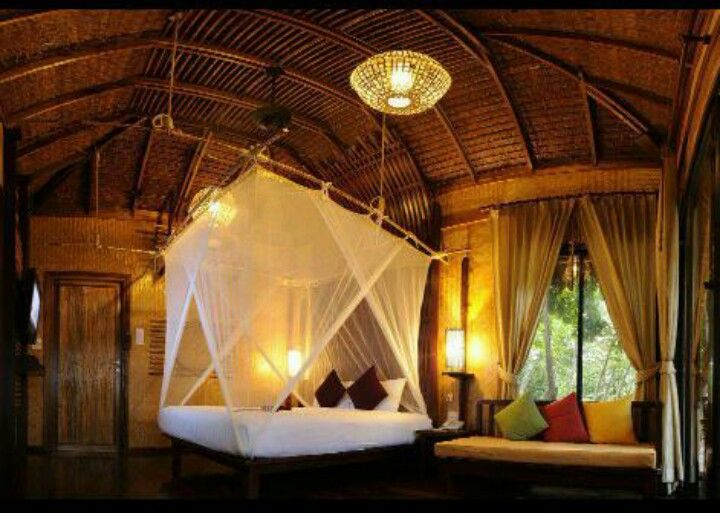 Inside Treehouse Bedroom