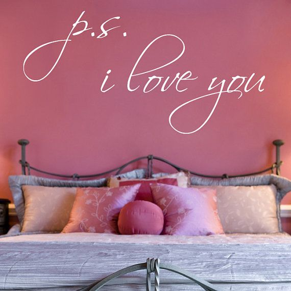 PS I love you Love the color Love the bed Love the wall
