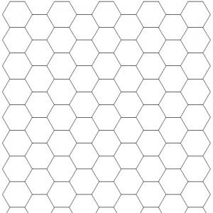 Hexagonal Graph  Different Types Of Graph Paper  Math