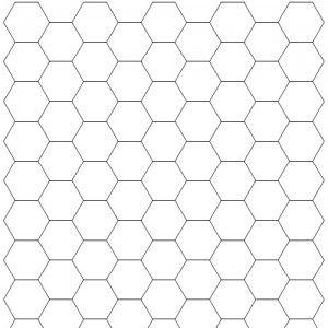 Hexagonal Graph - Different types of graph paper.   Math ...